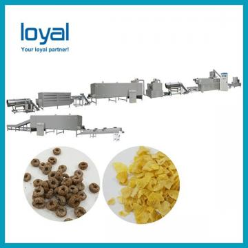 Crispy Cereal Kelloggs Corn Flakes Machine Breakfast Cereal Manufacturing Equipment