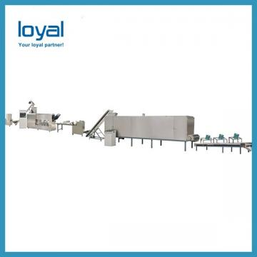 High Efficiency Large Fried Snack Pellet Machine , Food Processing Line