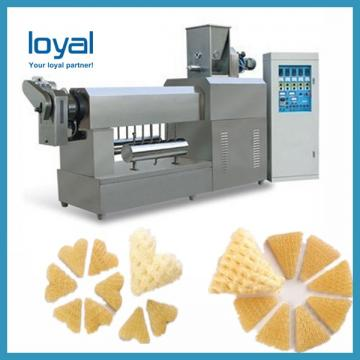 Automatic 3d& 2d Snack Crispy Chips/screw/shell/extruded Pellet Machine/fried Pellets Extruder Machine
