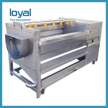 Commercial Semi Automatic Fried Potato Chips Crisps Production Machine