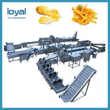 Professional Automatic Potato Chips Making Machine PLC Control System