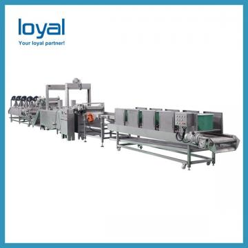 180KG/H Crisp Automatic Potato Chips Production Line Frozen French Fries Potato Chips Machines
