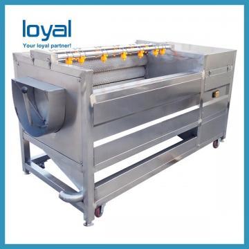 Commercial Semi Automatic Fried Potato Chips Crisps Production Machine