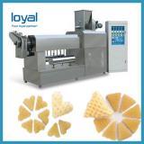 Extruded Fried Wheat Potato Cassava Tapioca 2D 3D Pellet Snack Food Extrusion Machine